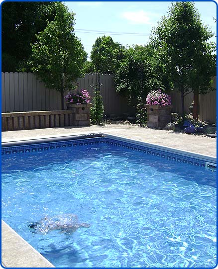 concrete swimming pool deck